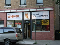 the wiener and Still Champion | by swanksalot