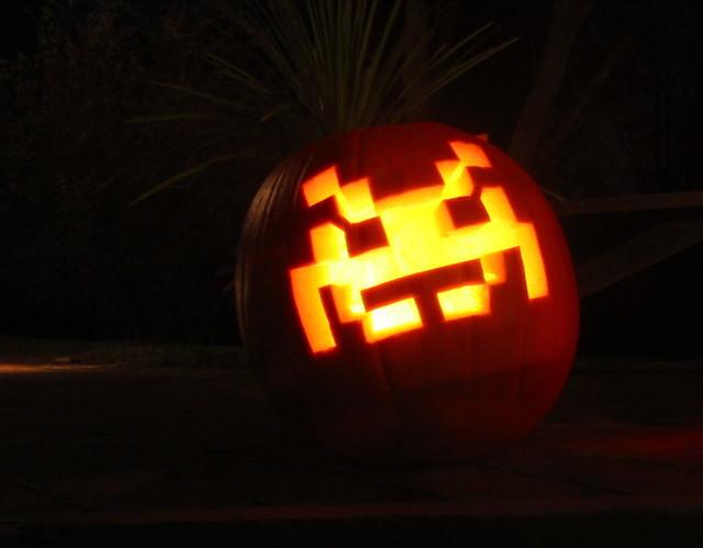 Pumpkins - Space Invader