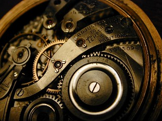 Grandfather's pocketwatch inner workings | by The Rocketeer
