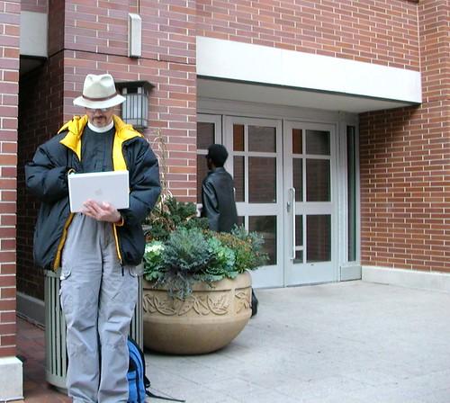 Information Highwayman Strikes in Evanston | by AKMA
