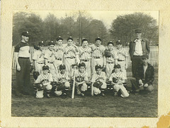 old school little league | by charles francis