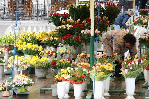 Flower stall in Krakow, Poland | by Pete Reed