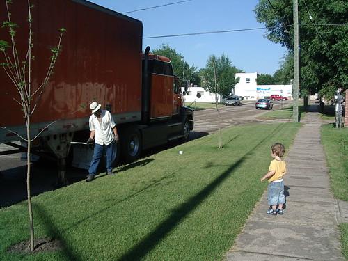 Big, big truck!