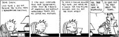 Calvin to Santa - 2
