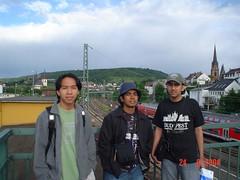 Bersama Irfan di Bingen, Germany