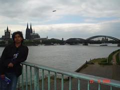 River Rhein, Cologne, Germany