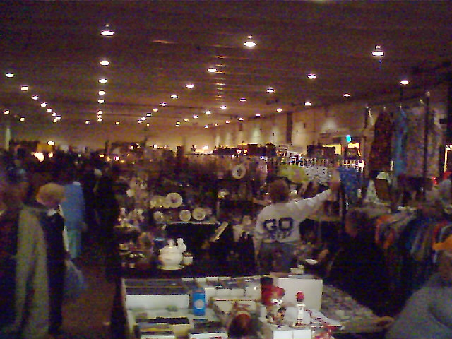"""inside """"the big one"""" flea market 
