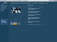 IE Antigua página web
