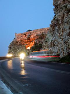 Crete roads