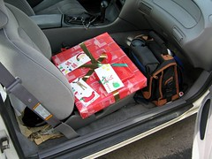 The sleigh is loaded