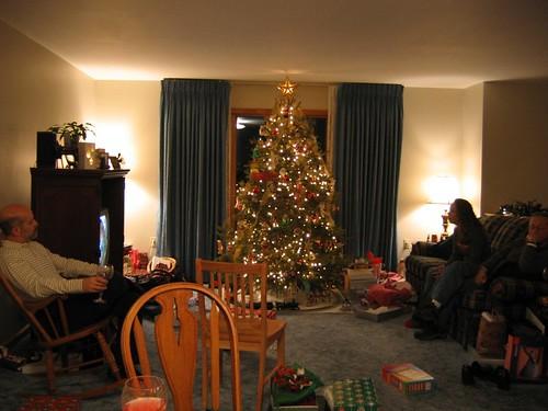 The tree at Tess' house