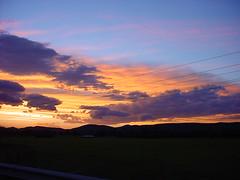sunset 'n' powerlines #3