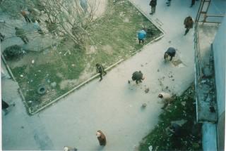 Breaking Rocks, Vlore, Albania, 1997