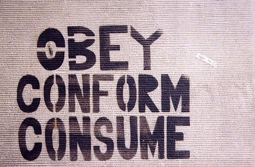 obey conform consume | by cowfish