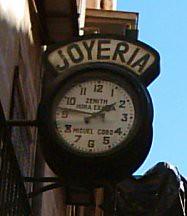 reloj joyería