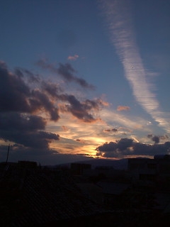 Hokusetu Skyline1@winter sunset