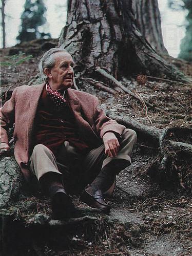 Tolkien in his element