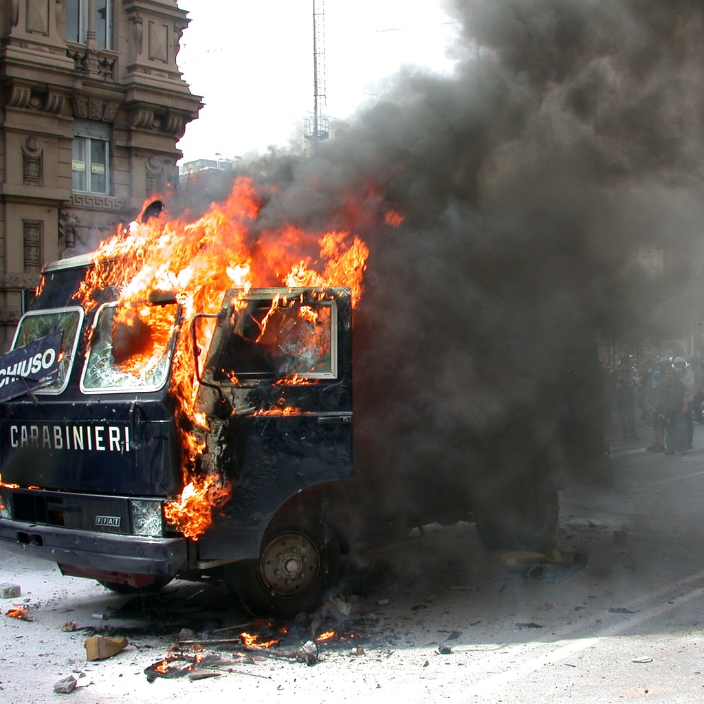 Genova 2001: No G8 | July 2001: More than 250.000 people gat…