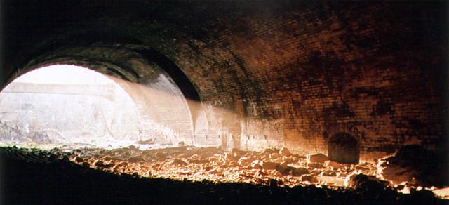 Disused train tunnel