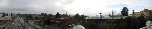 rain over the bay