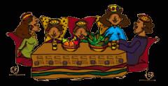 Familia africana Kwanzaa