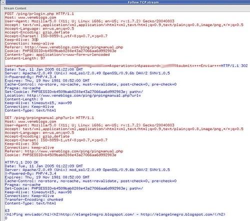 VeneBlogs captura de datos