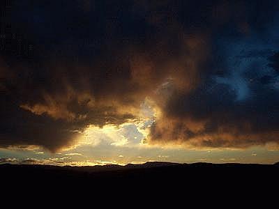 sunset edgewood dark newmexico