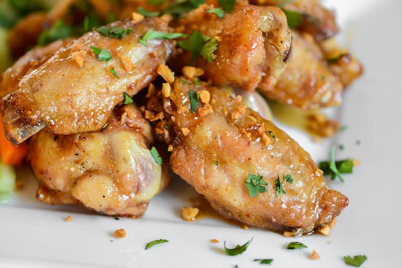 Savory Thai Flavored Wings