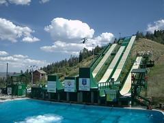 Summer Ski Jumping | by jurvetson