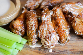 Alabama White Sauce Wings