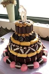 Hostess wedding cake   by trixieskips