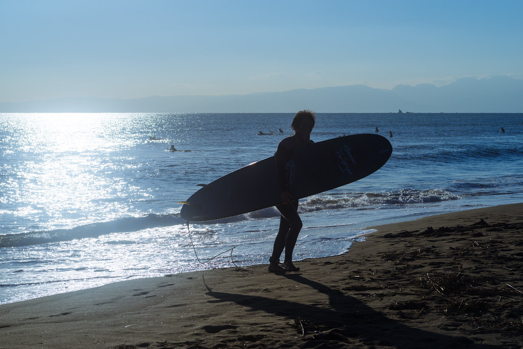 Surfer's Silhouette