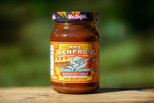 Mrs. Renfro's Ghost Pepper Barbecue Sauce