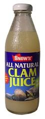 Yummy Clam Juice.