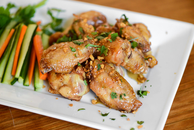 Savory Thai Flavored Wings