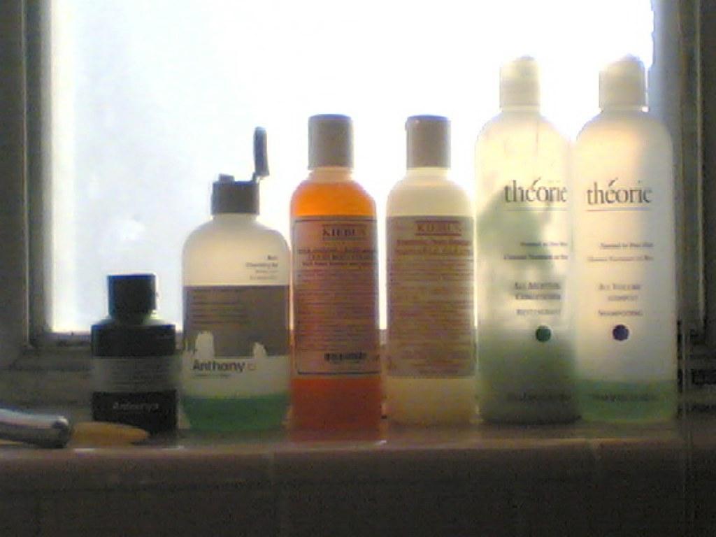 shower items