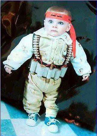 Palestinian 'Baby Suicide Bomber' | by spacebaby