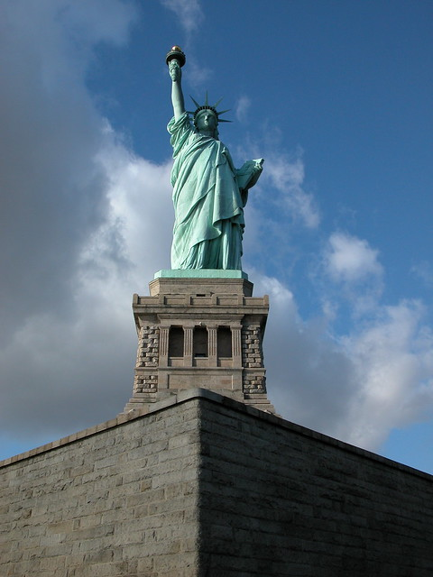 The Statue of Liberty @New York