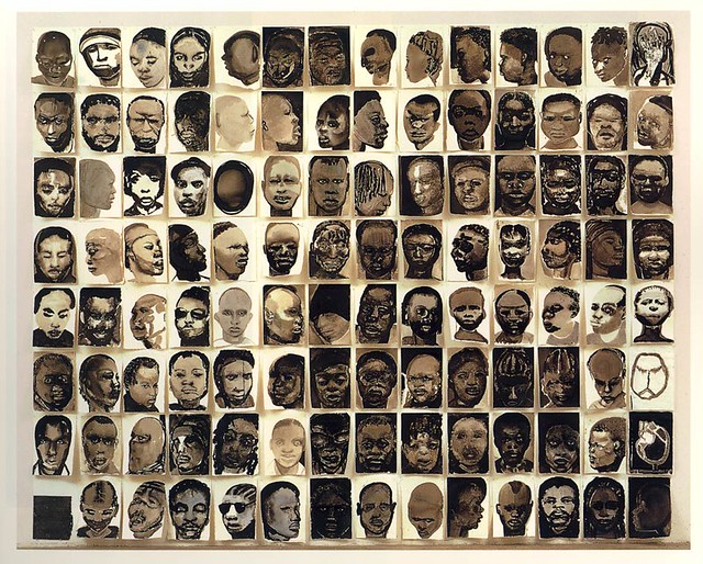 Marlene Dumas  Black Drawings | Reminiscent of the wall of p