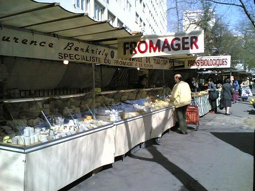 Marché Alésia : fromages