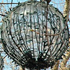 squared circle - tavern on the green hanging lantern