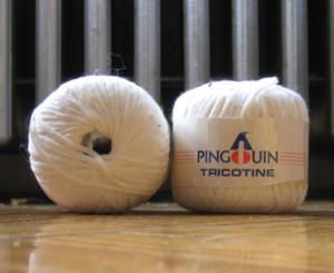 Fig and Plum: Pingouin Cotton Ribbon Yarn for Asana?