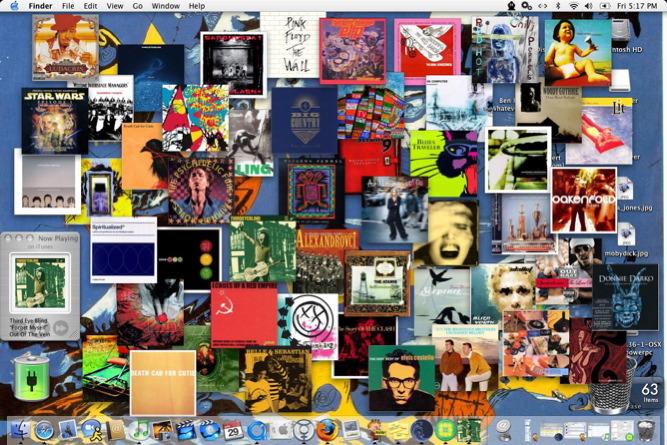 Clutter(ed) Desktop