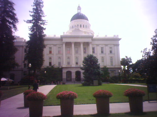 Another angle of the Capitol