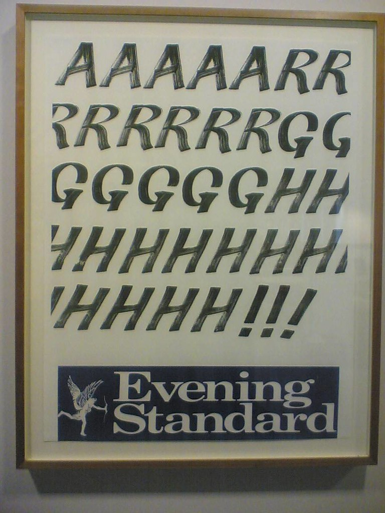 Evening Standard: AAARRRGGGHHH!