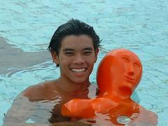 First Met: NUS Pool, June 2003