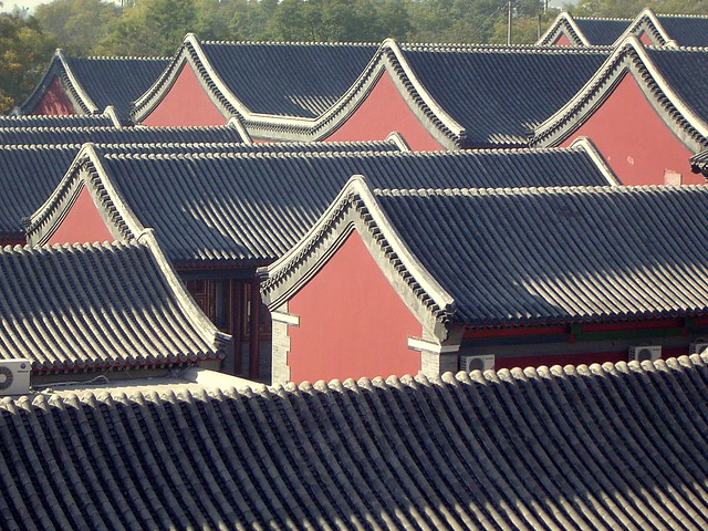 Chengde Roofscape