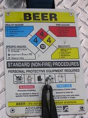 beer trailer sign