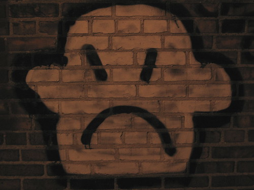 alleyway sadness | by brooklyn