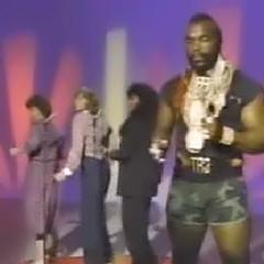 Mr T raps. Mother Trio backs him up.